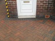 Newly cleaned driveway, Sheffield, South Yorkshire